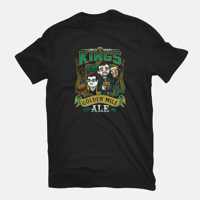 Golden Mile Ale-mens basic tee-Nemons