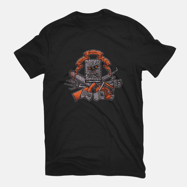 Groovy Darkness-mens premium tee-Letter_Q