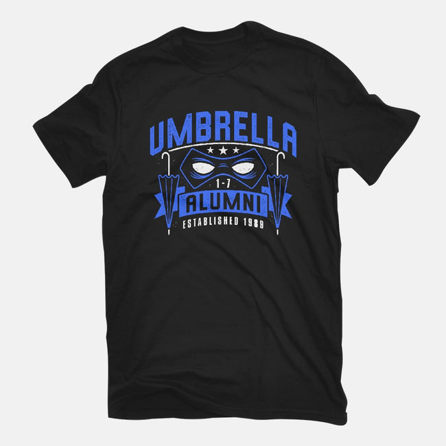Umbrella Alumni-mens basic tee-adho1982