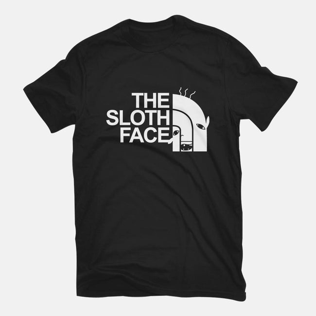The Sloth Face-mens basic tee-Raffiti