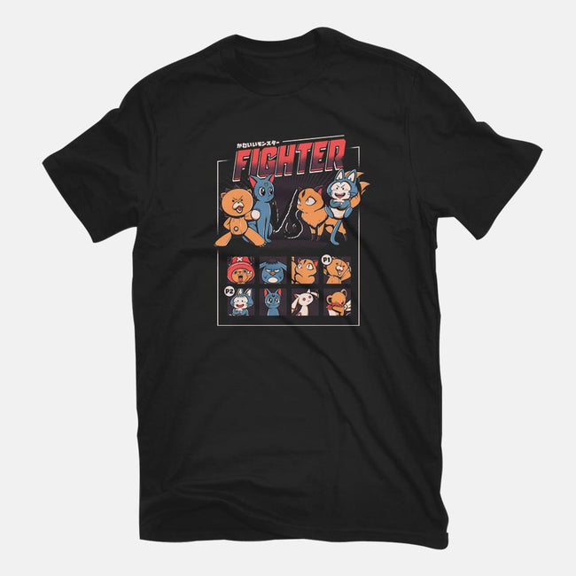 Anime Fight-mens premium tee-ilustrata