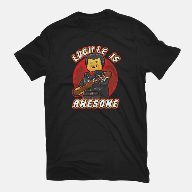 Lucille is Awesome-mens premium tee-Olipop