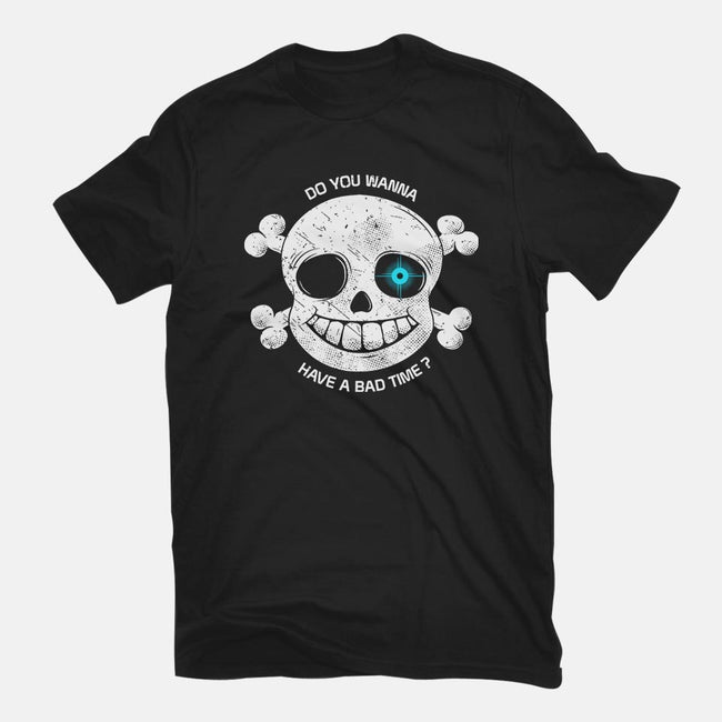 Do You Wanna Have a Bad Time?-mens basic tee-ducfrench
