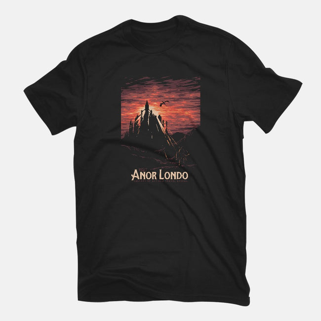 Visit Anor Londo-mens long sleeved tee-Mathiole