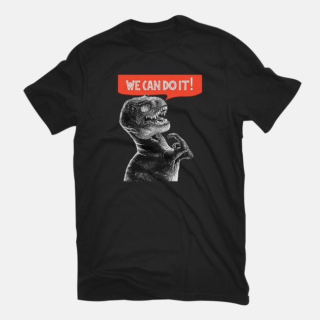 Rexy Can Do It-womens basic tee-hugohugo