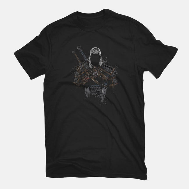 The Hunter of Rivia-mens basic tee-DrMonekers