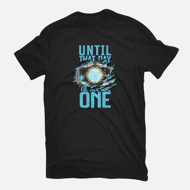 Until That Day-womens fitted tee-manoystee