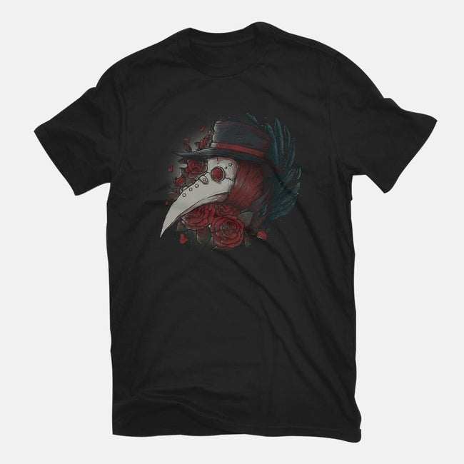 Plague Doctor-mens basic tee-xMorfina