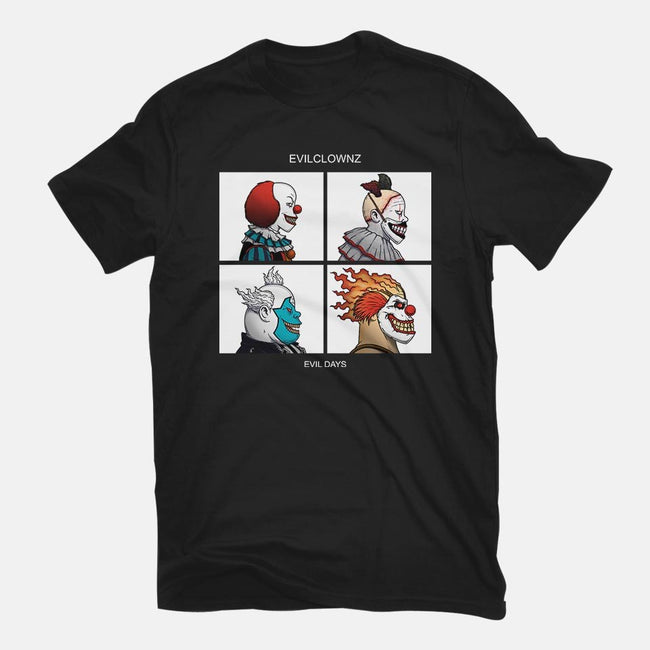 Evilclownz-mens basic tee-pigboom