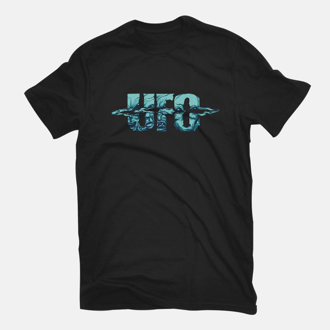 UFO-mens basic tee-ogie1023