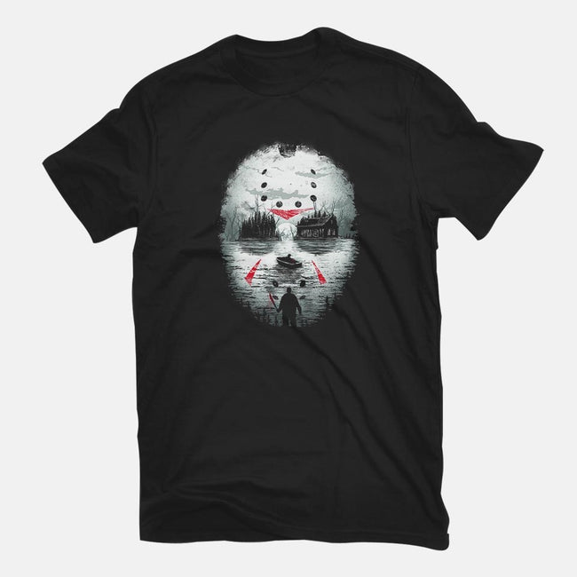 Friday Night Terror-mens basic tee-dandingeroz