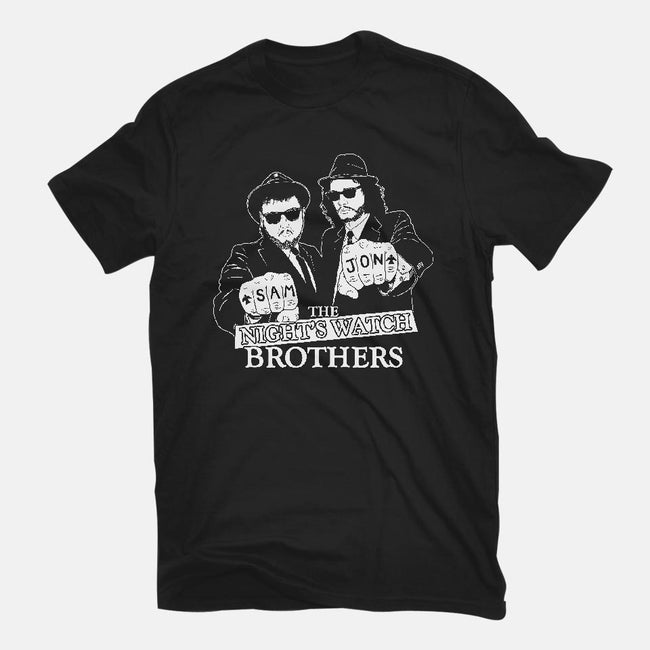 Nightwatch Brothers-mens basic tee-JCMaziu