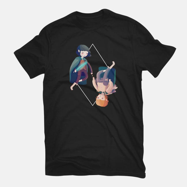 The Ring Bearer and the Guardian-mens basic tee-nanlawson