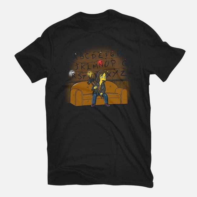 Waiting for the Demogorgon-mens basic tee-2mzdesign