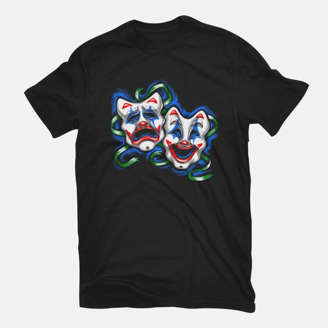 Life is A comedy/ Tragedy-mens premium tee-punksthetic