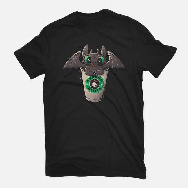 Dragon Coffee-mens premium tee-eduely