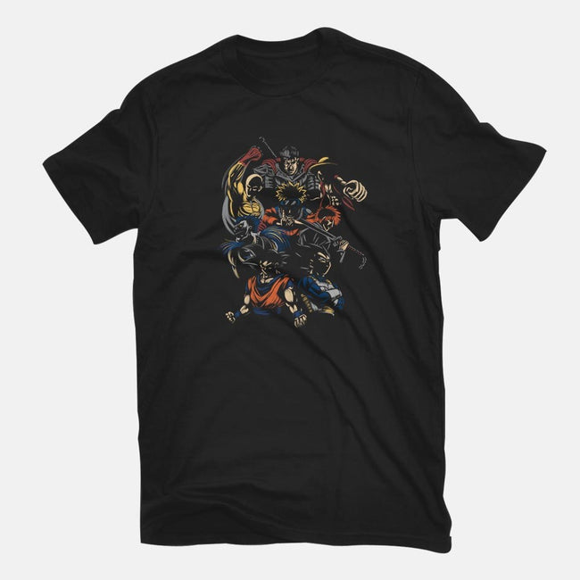Anime Invincible Team-womens fitted tee-Legendary Phoenix