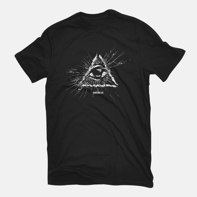 Under His Eye-mens premium tee-department