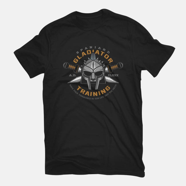Spaniard Gladiator Training-mens basic tee-RyanAstle