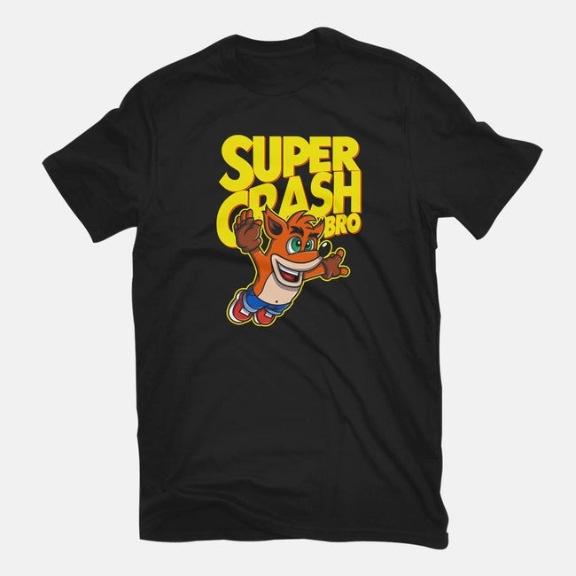 Super Crash Bro-mens basic tee-Punksthetic