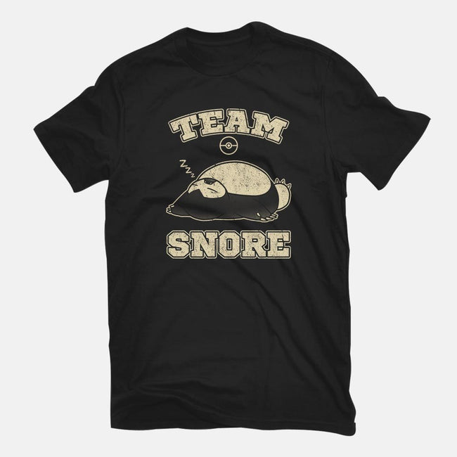 Team Snore-mens basic tee-jozvoz