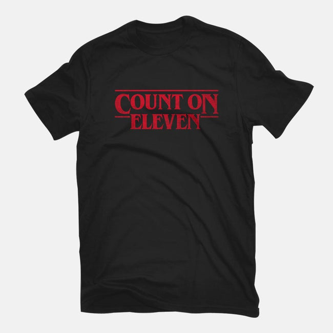 Count On Eleven-mens basic tee-CappO