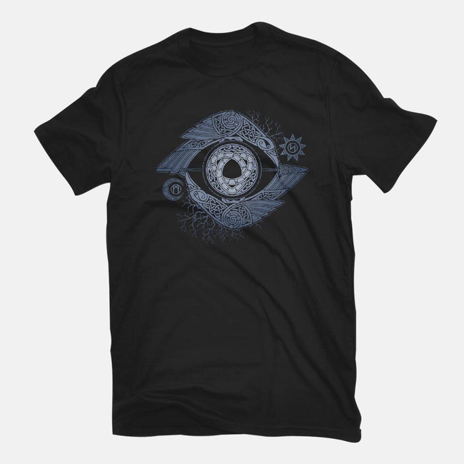ODIN'S EYE-mens long sleeved tee-RAIDHO