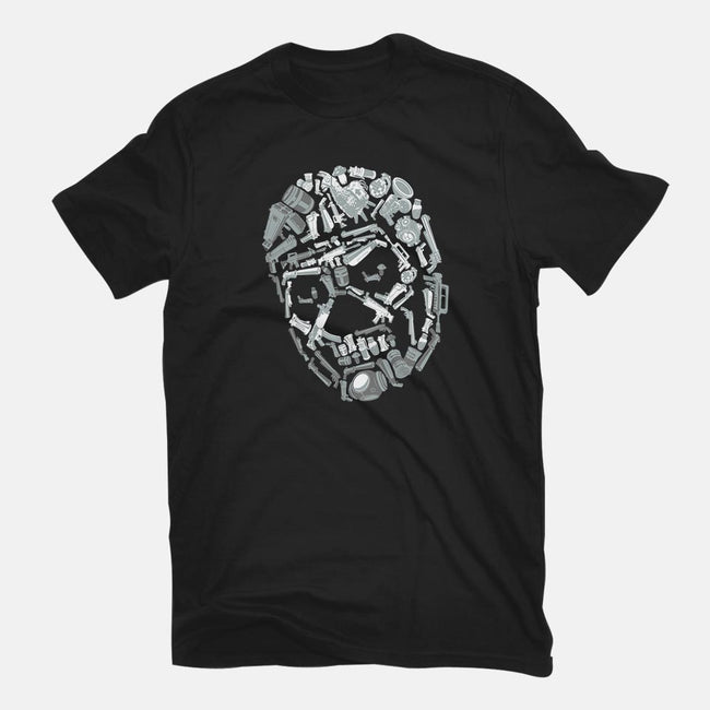Skull Arsenal-mens basic tee-DJKopet