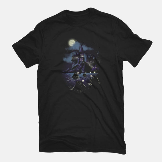 Magic Night-mens basic tee-ursulalopez