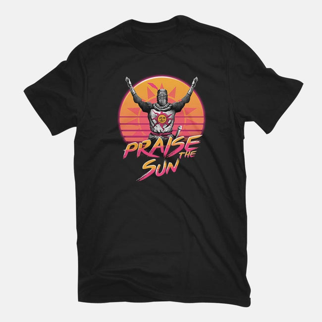 Praise the Sunset Wave-womens basic tee-vp021