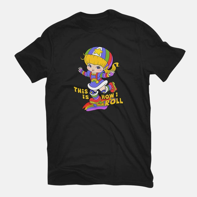 This Is How I Roll-mens basic tee-Ellador