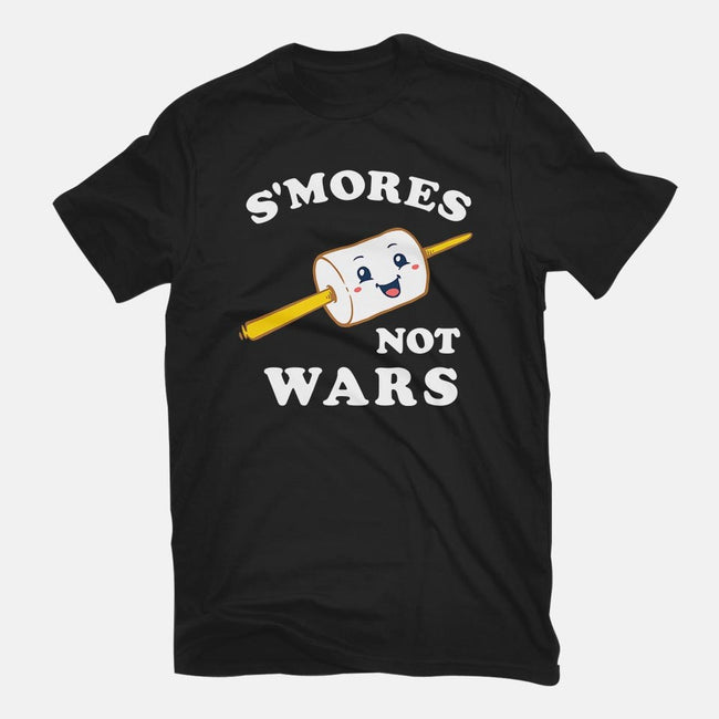 S'mores Not Wars-mens basic tee-dumbshirts