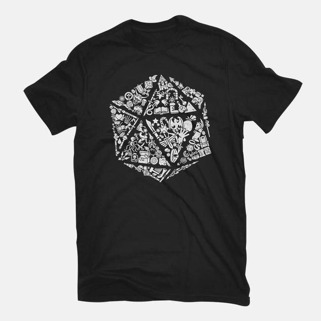 Dice Gamer-youth basic tee-shirox