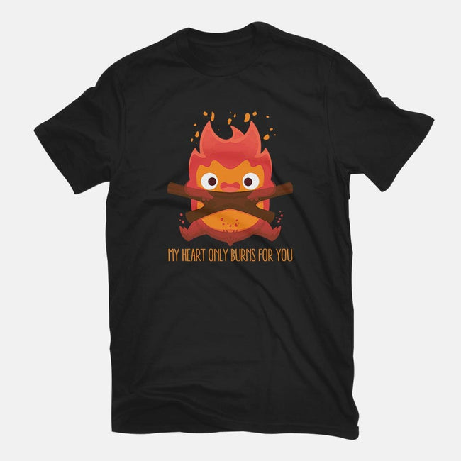 The Fire Demon-youth basic tee-maped