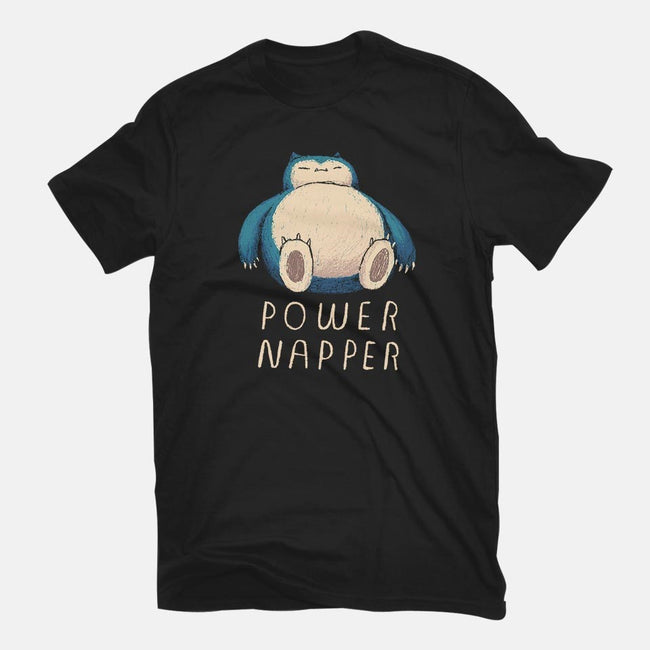 Power Napper-womens fitted tee-louisros