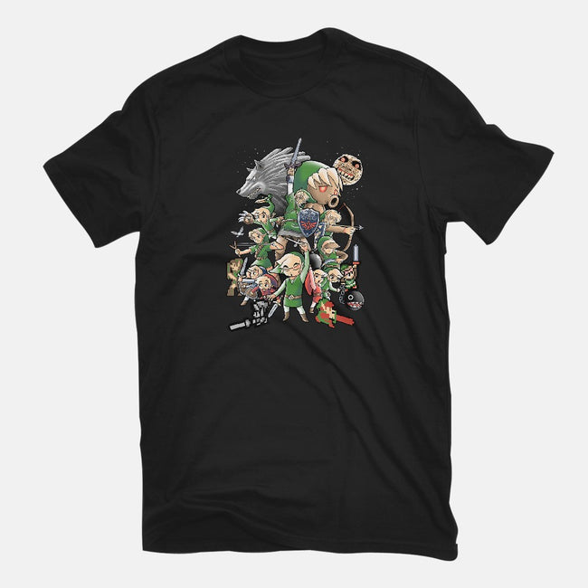 One Hero-womens basic tee-trheewood