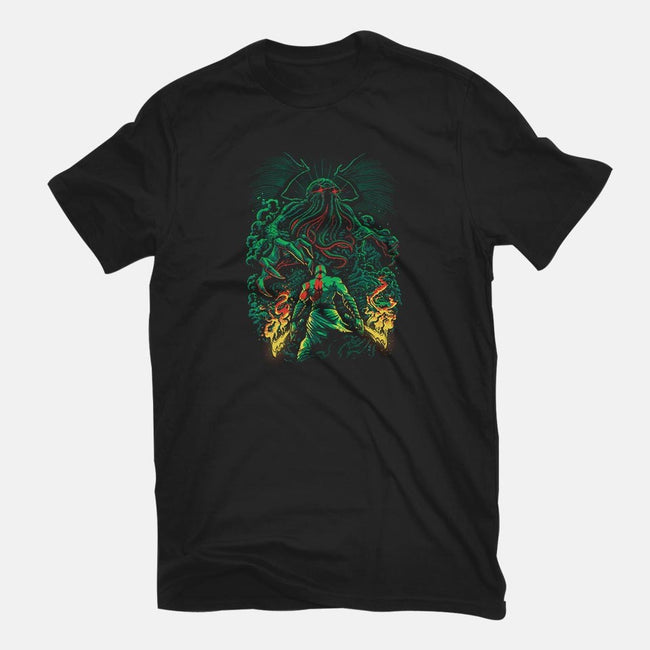 Clash of the Old Gods-womens basic tee-Fuacka