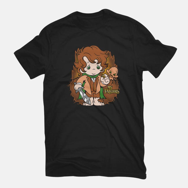 My Precious-womens basic tee-harebrained