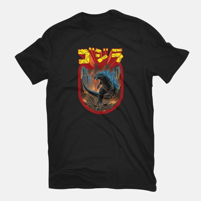 King of the Monsters-womens basic tee-Shamus Beyale