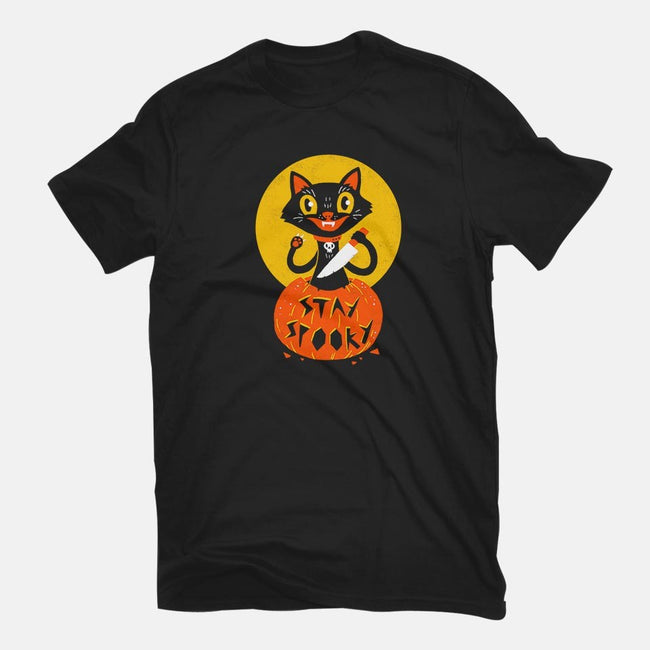 Stay Spooky-mens basic tee-DinoMike