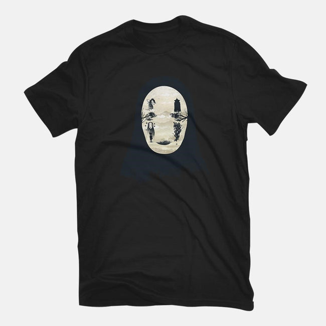 Forest Without a Face-mens basic tee-dandingeroz