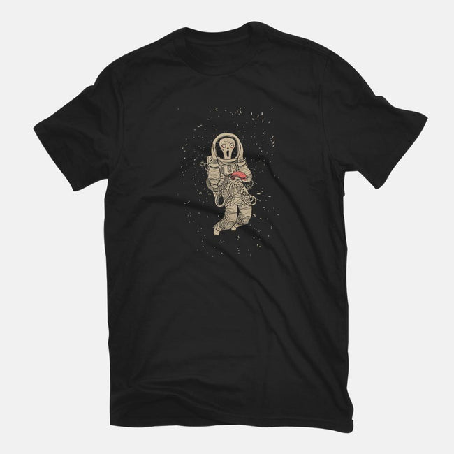 In Space, No One Can Hear You Scream-womens basic tee-spike00