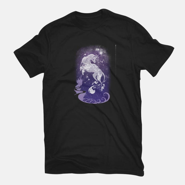 The Last Starry Sky-womens basic tee-ChocolateRaisinFury