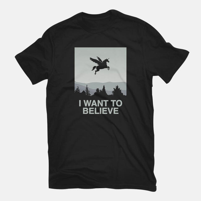 I Want to Believe-womens fitted tee-vomaria