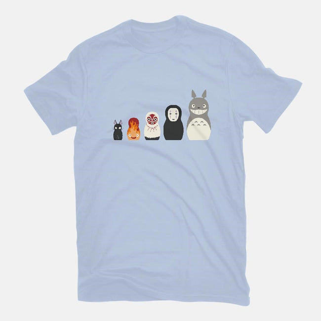 Doll Friends-youth basic tee-ChocolateRaisinFury