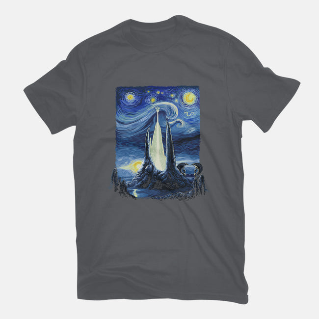 Starry Fantasia-womens fitted tee-daobiwan