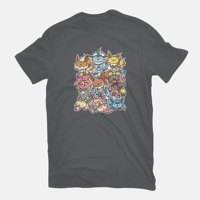 Eevee Atsume-mens basic tee-GillesBone