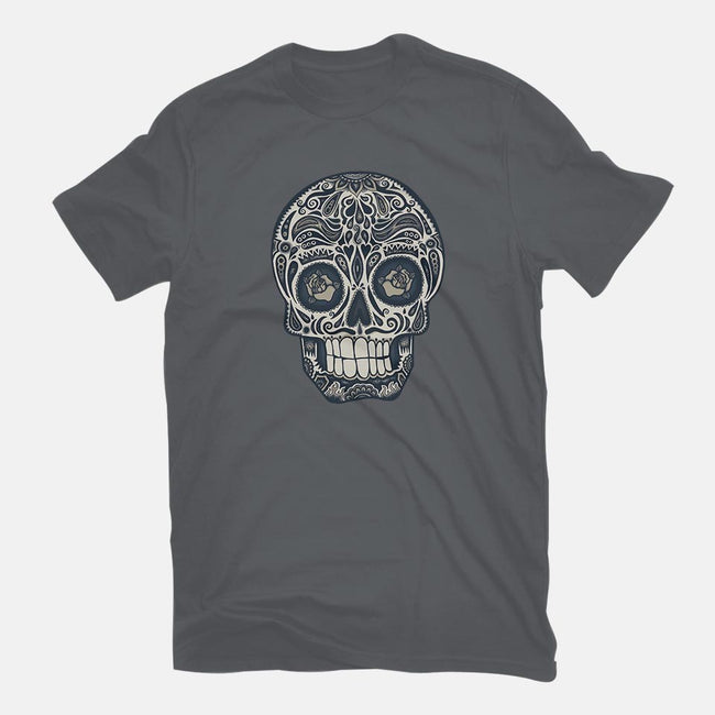 Calavera Sugar Skull-mens basic tee-wotto