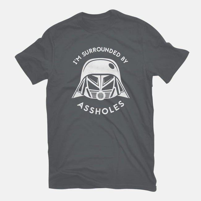 Surrounded By Assholes-youth basic tee-JimConnolly