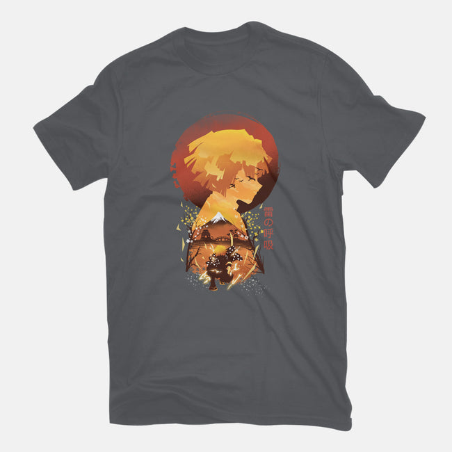 Breath of Fire-mens basic tee-dandingeroz